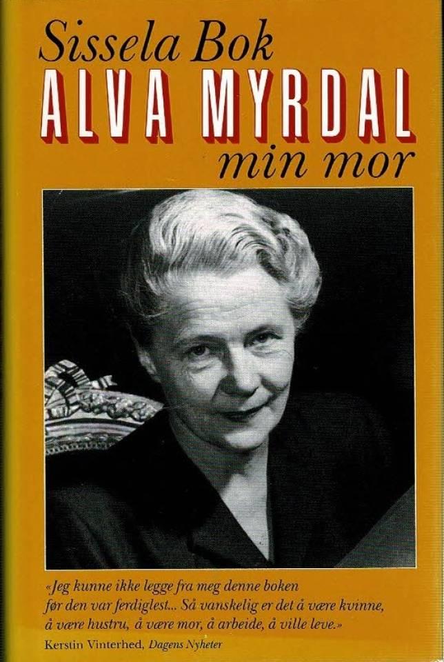 Alva Myrdal - min mor
