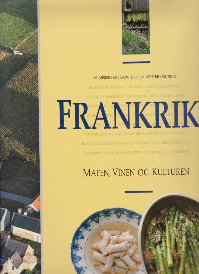 Frankrike - maten, vinen og kulturen