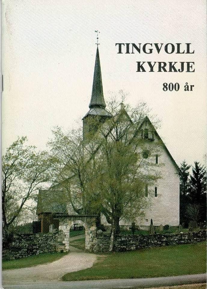 Tingvoll kyrkje 800 år