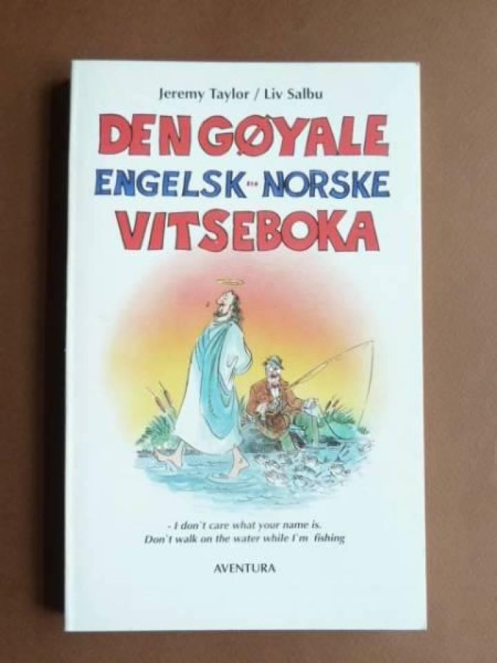 Den gøyale engelsk norsk vitseboka