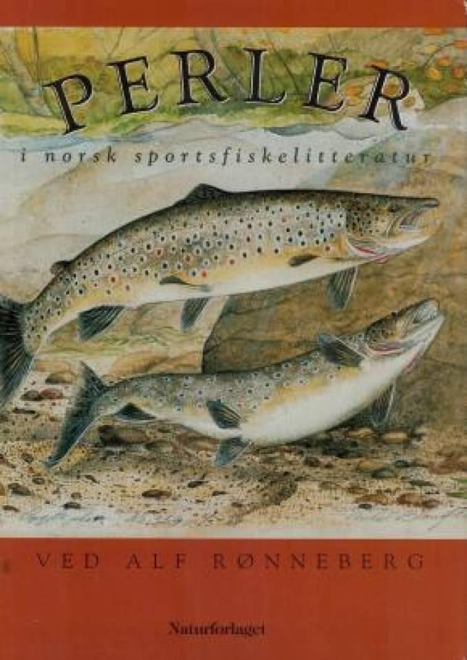 Perler i norsk sportsfiskelitteratur