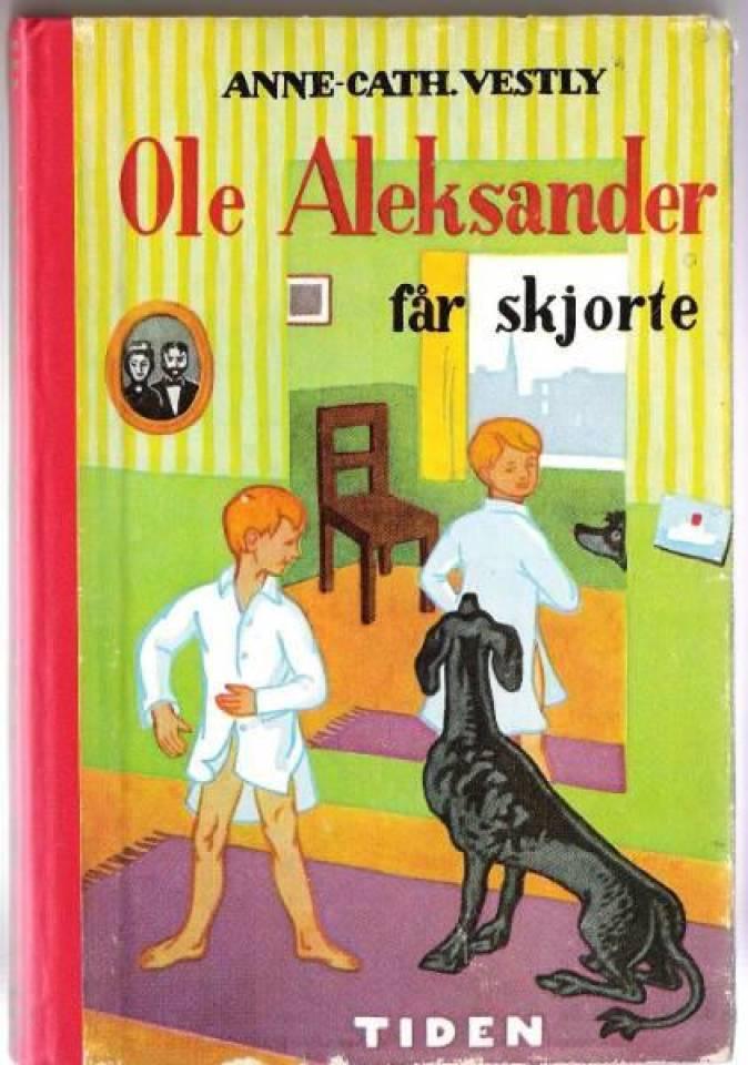 Ole Aleksander får skjorte