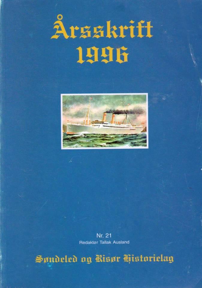 Årsskrift 1996 - Søndeled og Risør Historielag