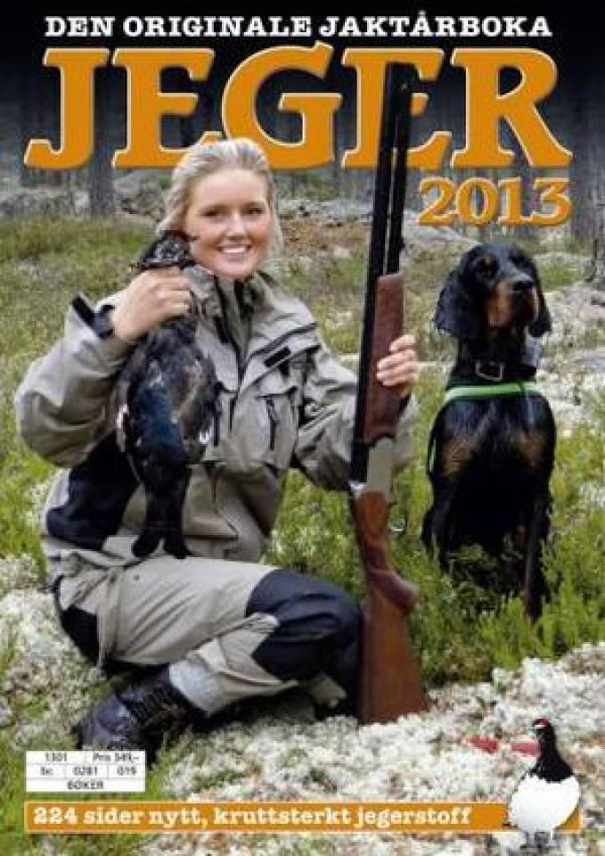 Jeger 2013 - den originale jaktårboka