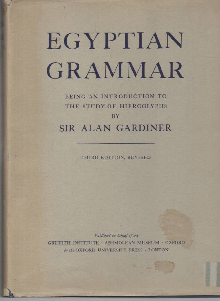 Egyptian Grammar