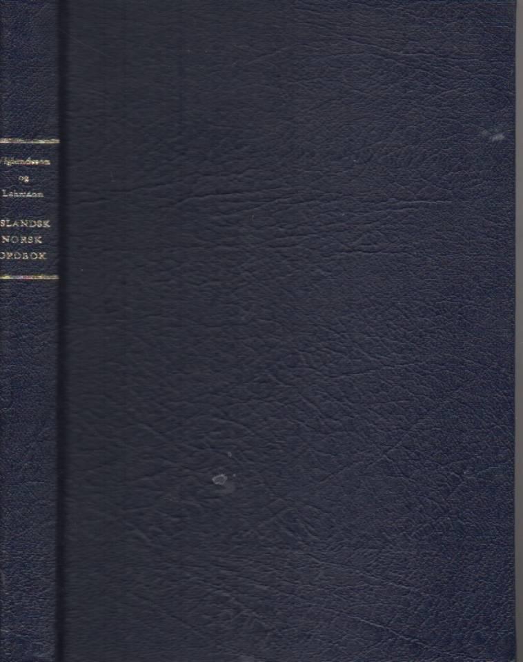 Islandsk norsk ordbok
