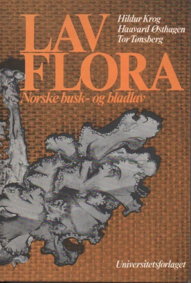 Lav – Flora – Norske busk- og bladlav