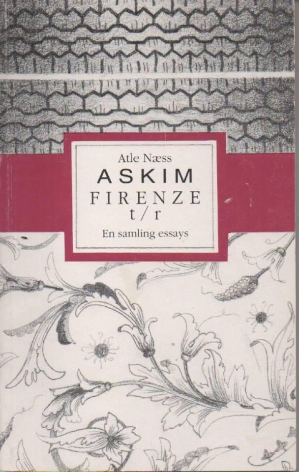 Askim Firenze t/r – en smaling essays