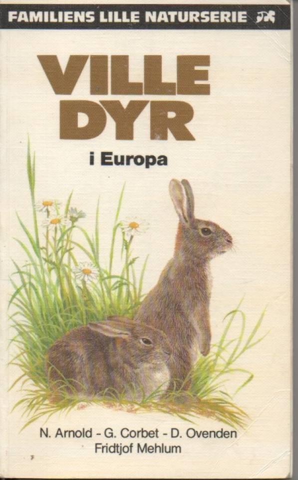 Ville dyr i Europa