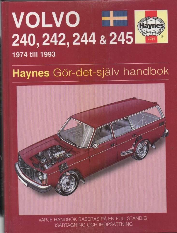 Volvo 240, 242, 244 og 245 – 1974 til 1993  – Gör-det själv handbok