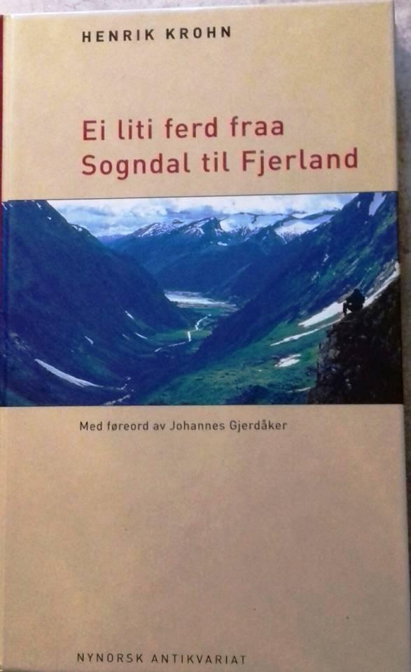 Ei liti ferd fraa Sogndal til Fjerland