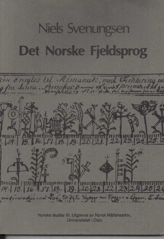 Det Norske Fjeldsprog