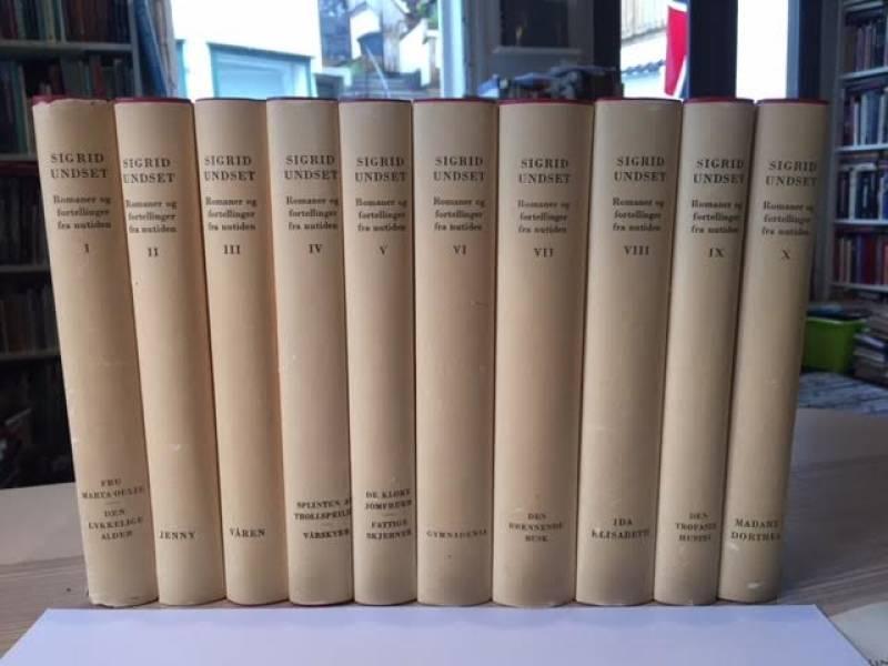 Romaner og fortellinger fra nutiden