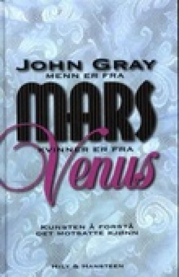 Menn er fra mars og kvinner fra Venus
