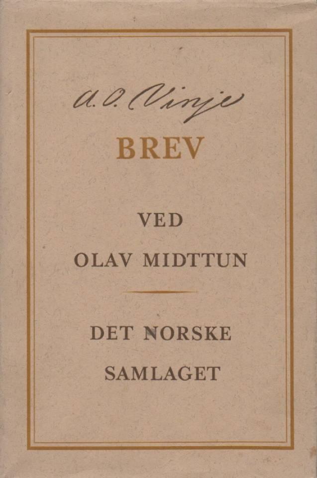 A. O. Vinje – bfrev ved Olav Midttun