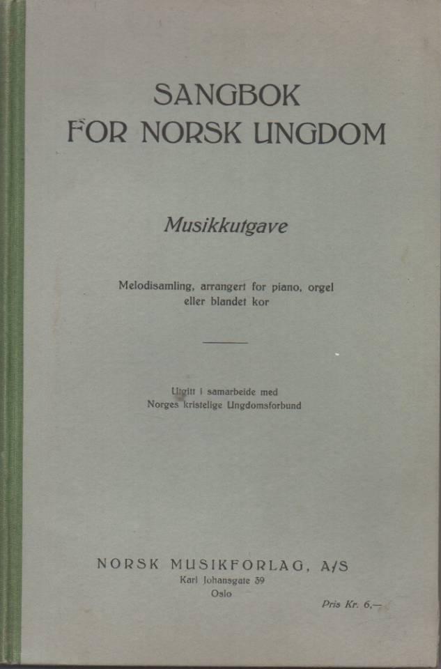 Sangbok for norsk ungdom – Musikkutgave