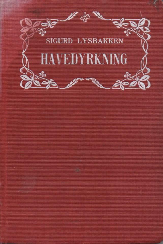 Kortfattet lærebok i havedyrkning