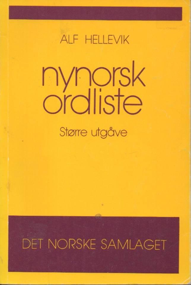 Nynorsk ordliste