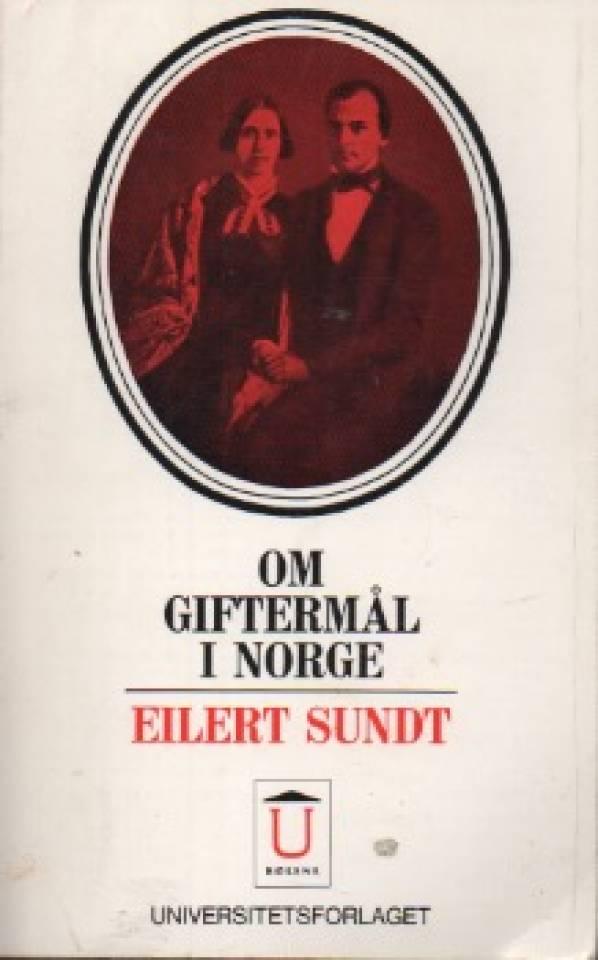 Om giftermål i Norge