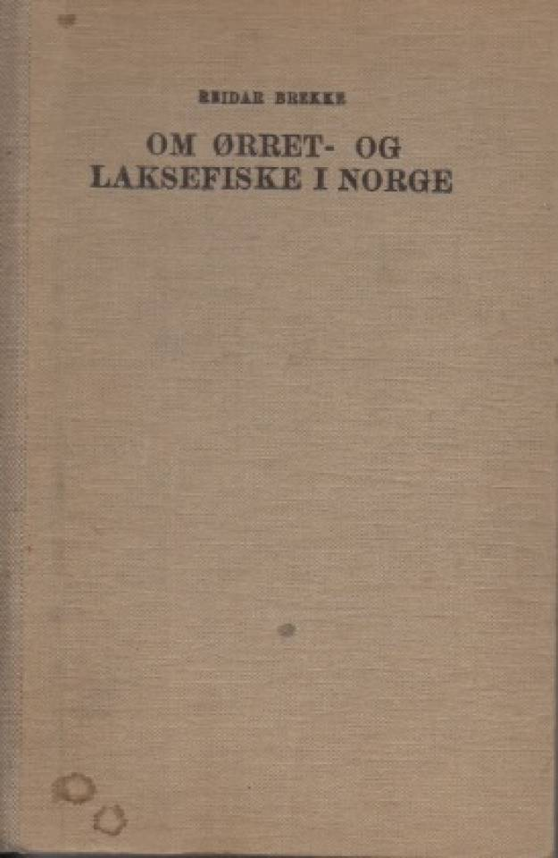 Om ørret- og laksefiske i Norge