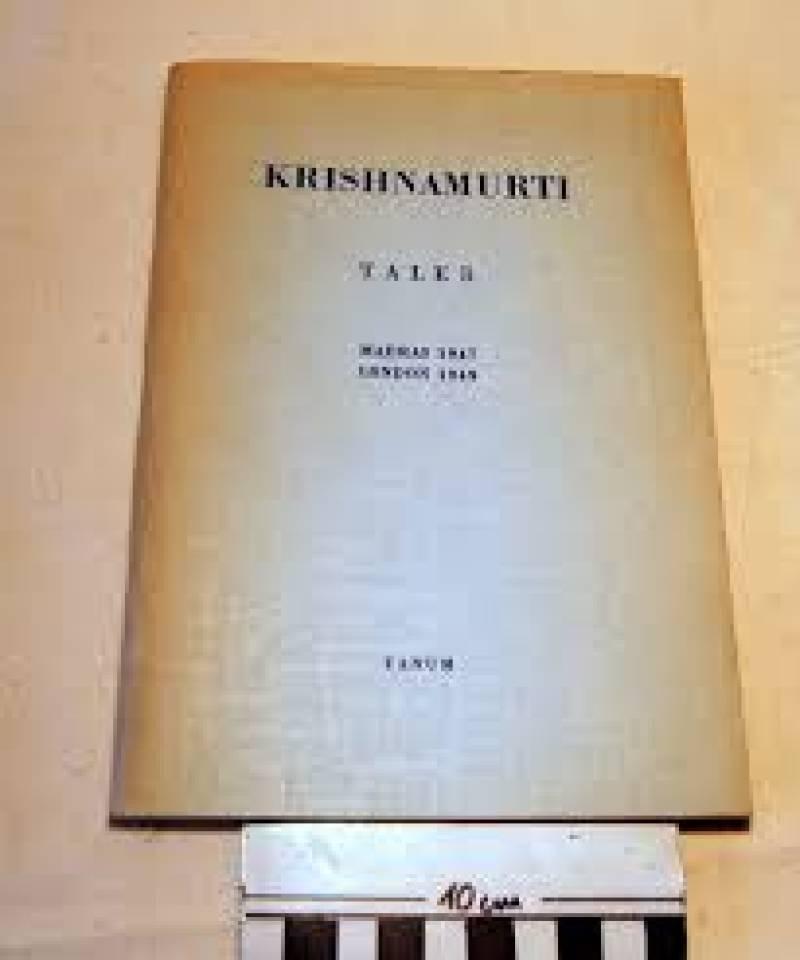 Krishnamurti taler