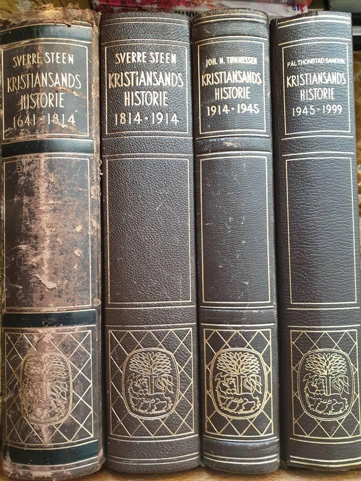 Kristiansands historie. Bind 1-4