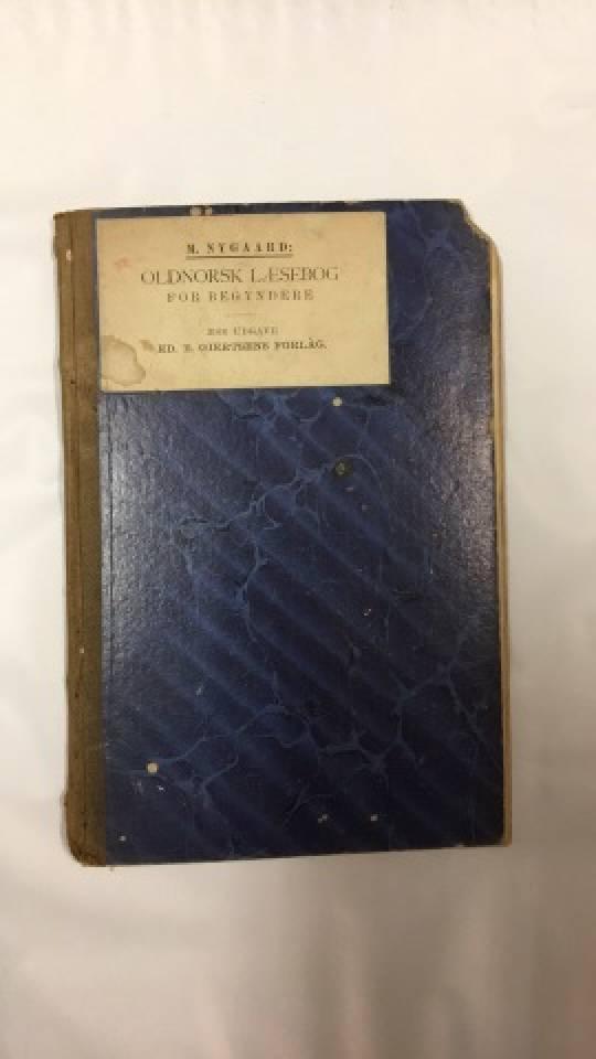 Oldnorsk Læsebog- for bygyndere
