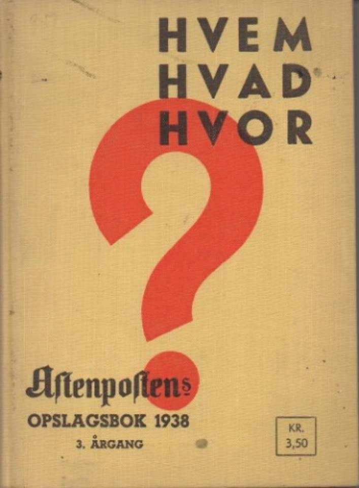 Hvem Hva Hvor 1938