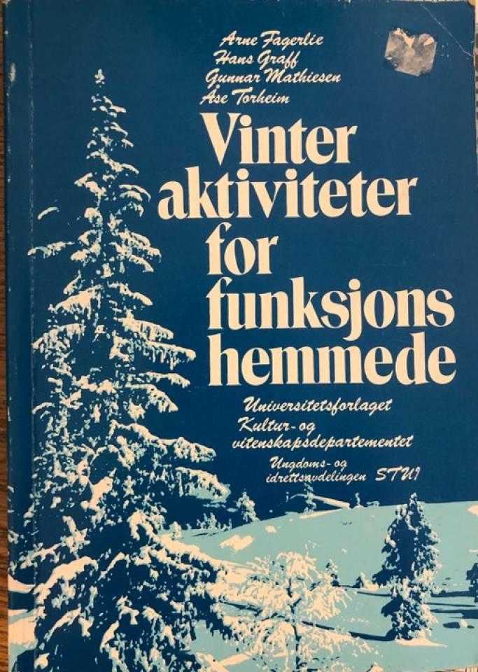 Vinteraktiviteter for funksjonshemmede