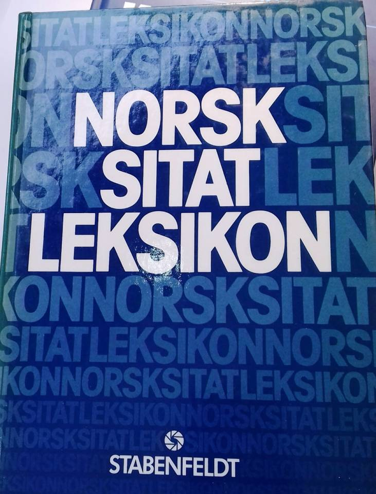 Norsk sitatleksikon