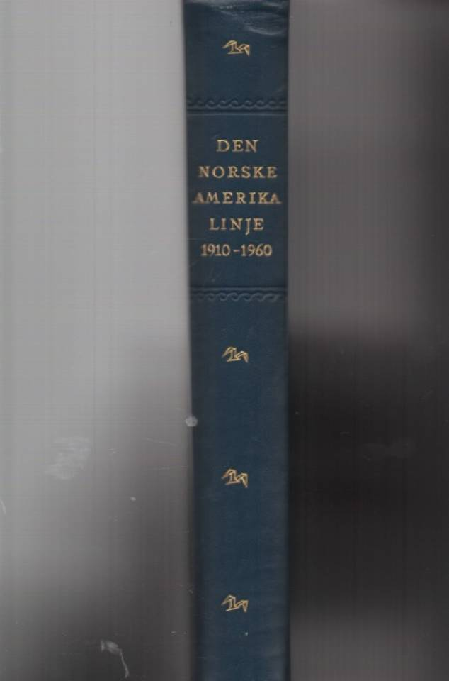 Den norske amerikalinje 1910-1960