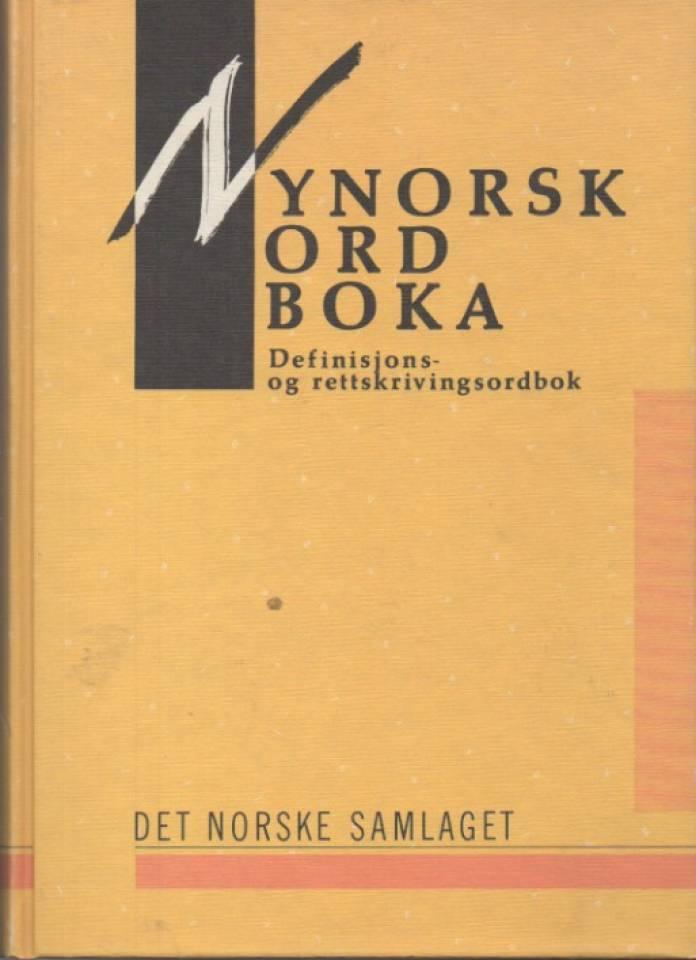 Nynorskordboka – Definisjons- og rettskrivningsordbok