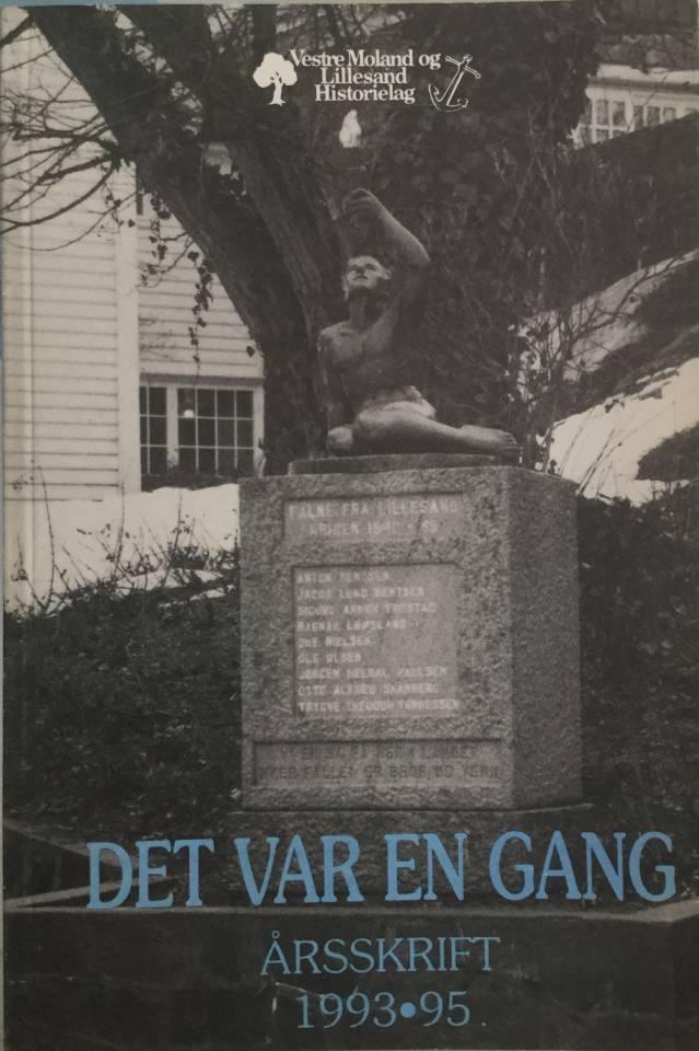 DET VAR EN GANG Årsskrift 1993. 95