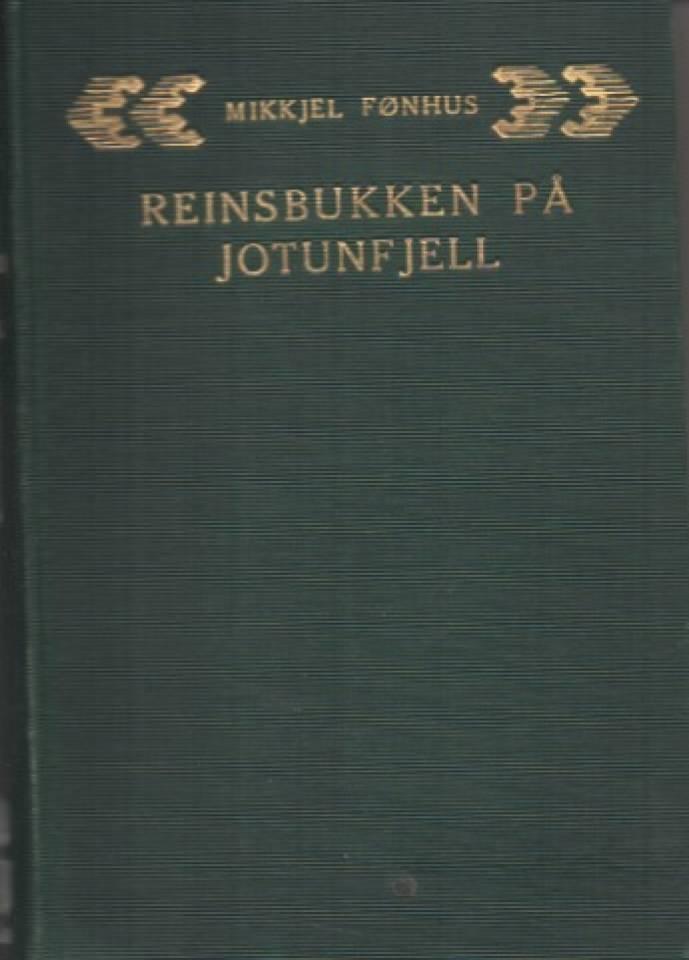 Reinsbukken på Jotunfjell