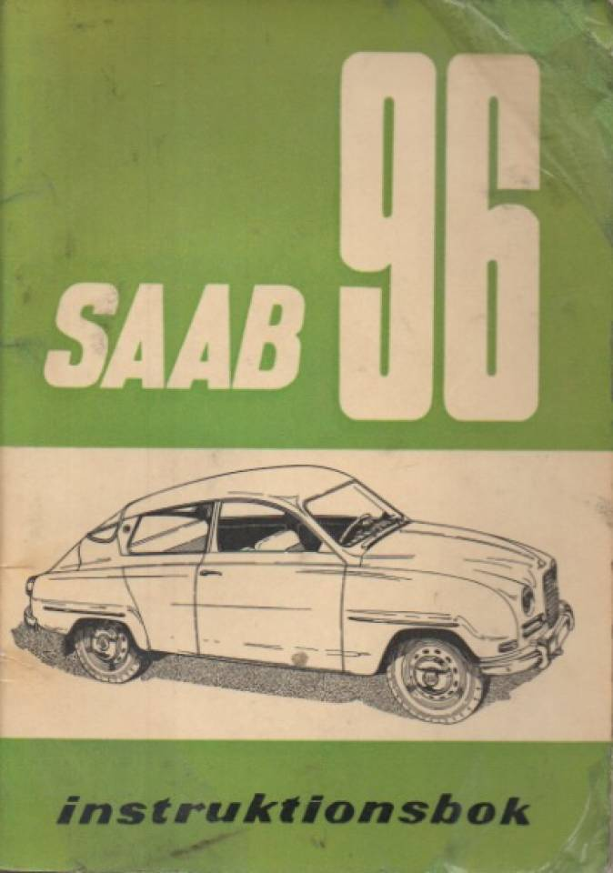 Saab 96 - instruktionsbok