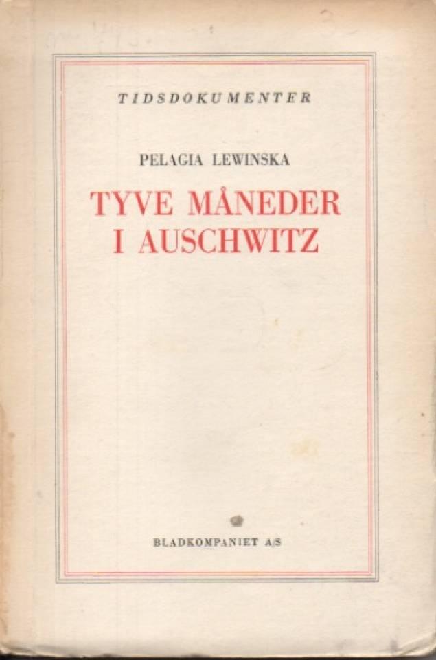 Tyve måneder i Auschwitz