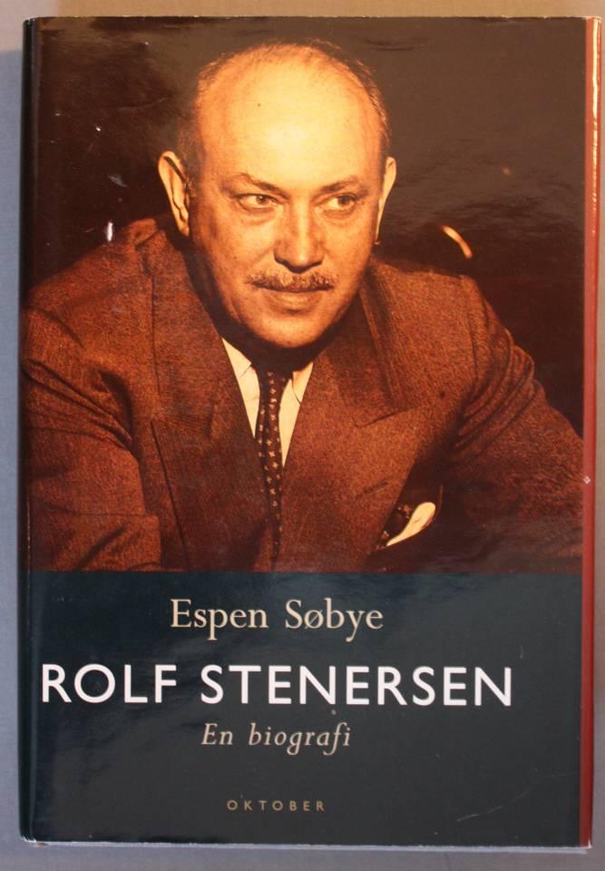 Rolf Stenersen en biografi