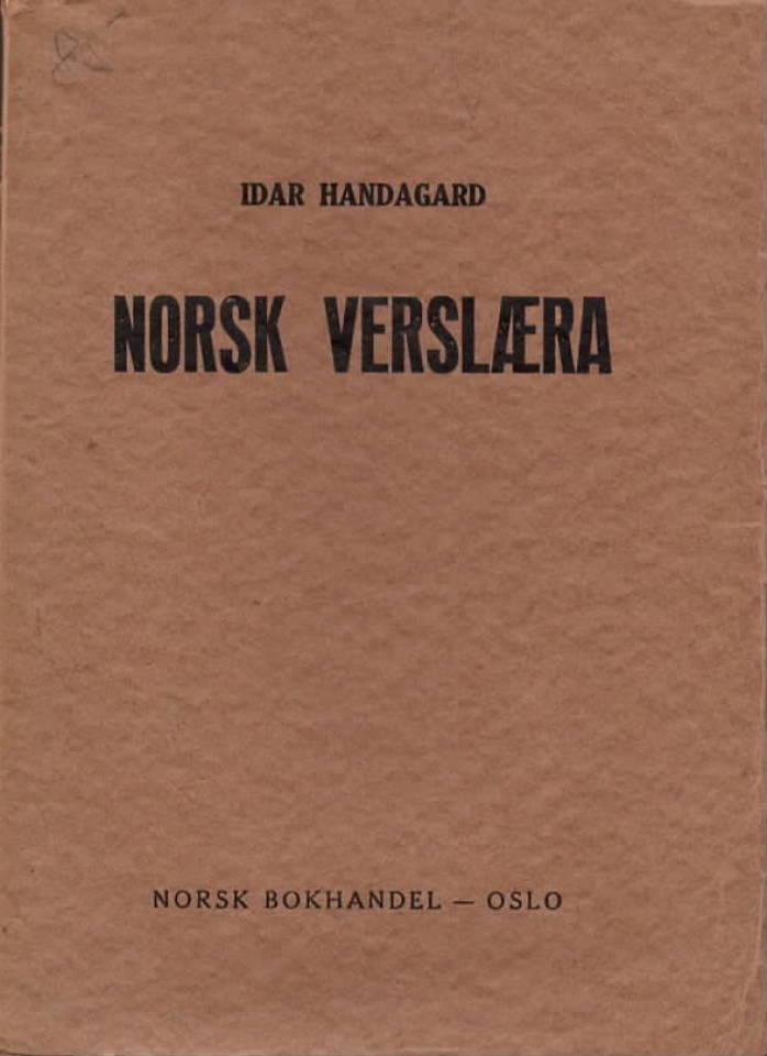 Norsk Verslæra