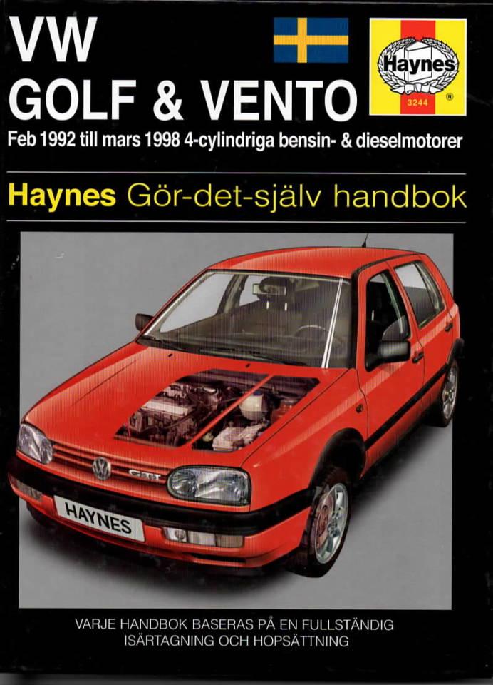 VW Golf & Vento