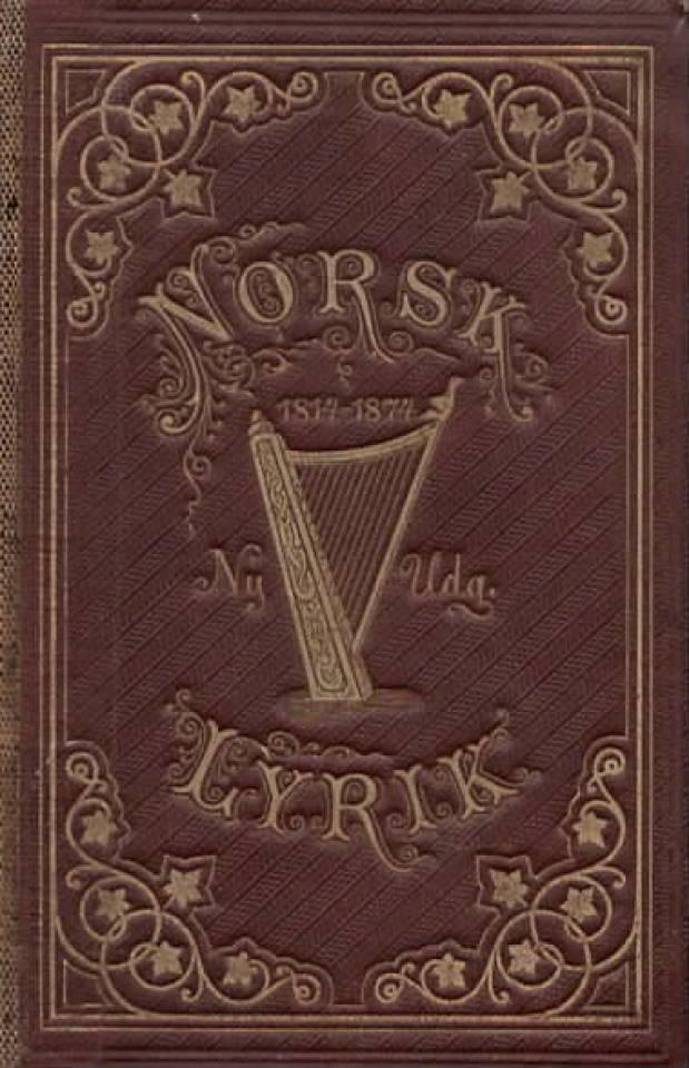 Norsk lyrik 1817-1877