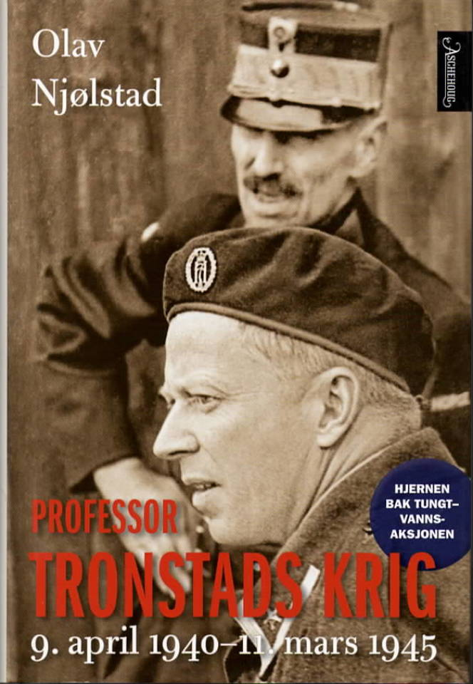 Professor Tronstads krig – 9.april 1940-11.mars 1945