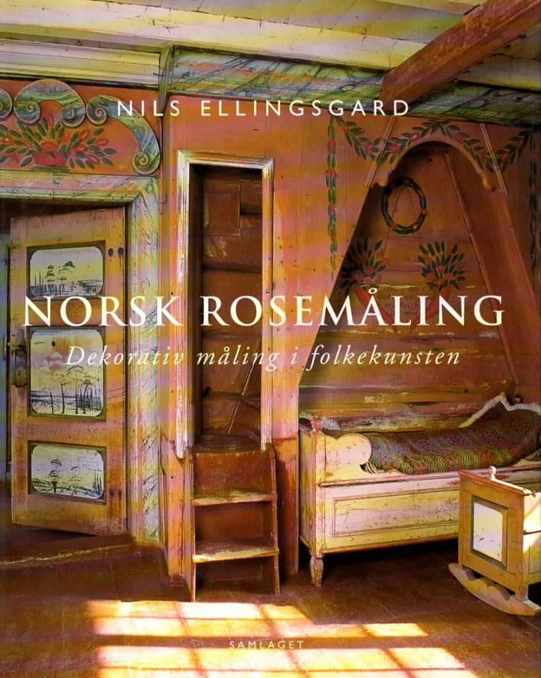 Norsk rosemåling – dekorativ måling i folkekunsten