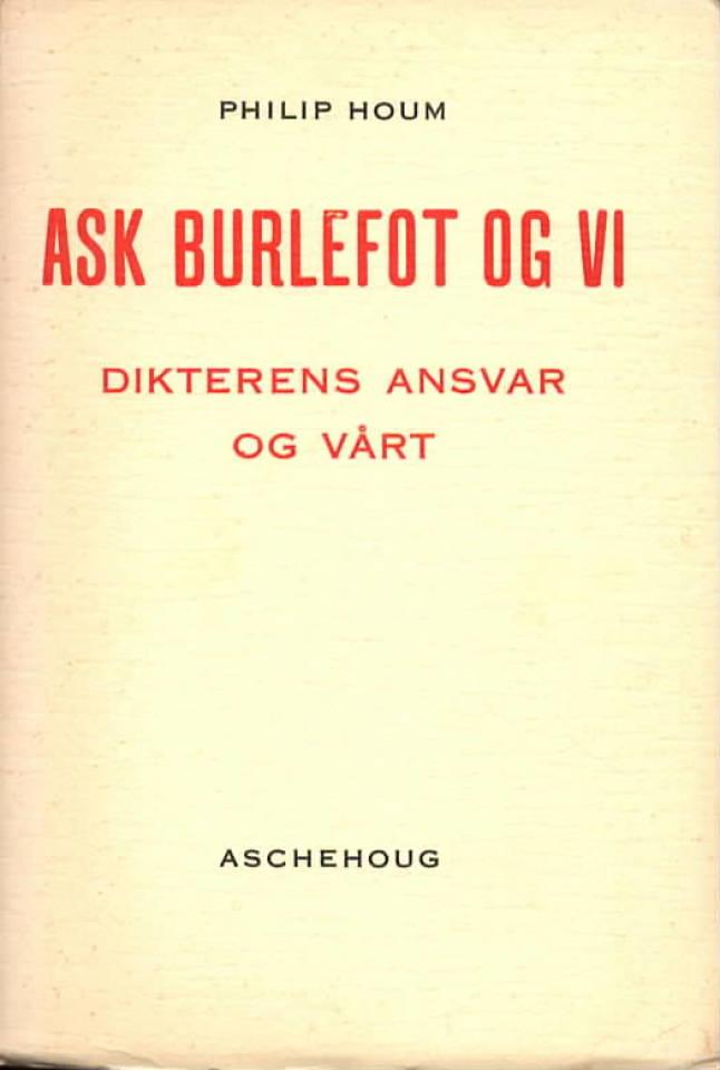 Ask Burlefot og vi