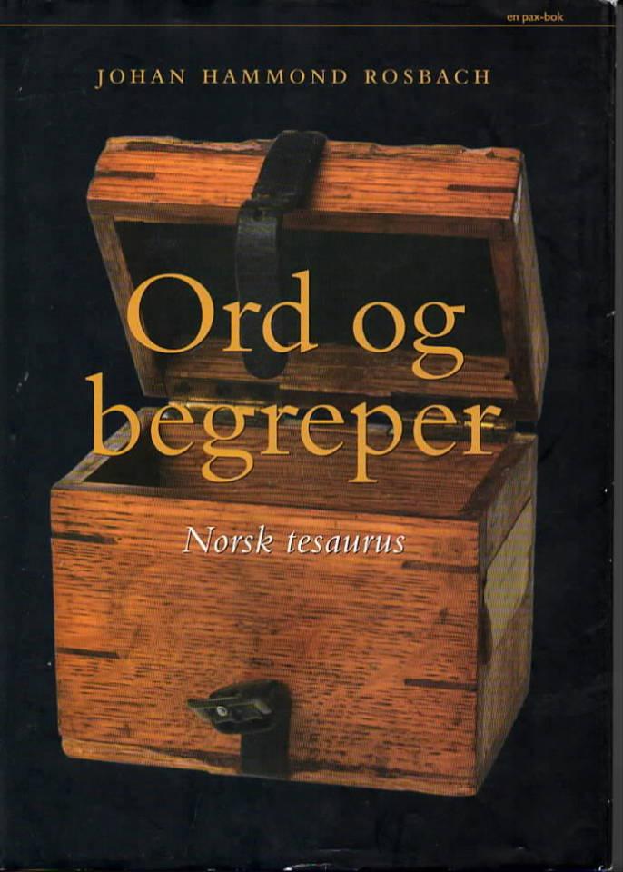Ord og  begreper – Norsk tesaurus