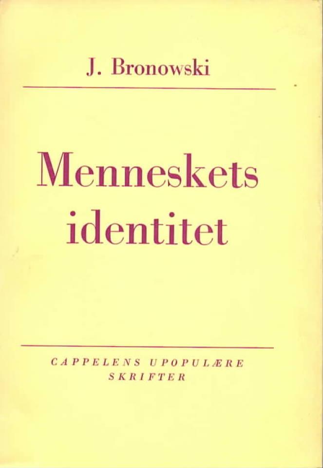 Menneskets identitet