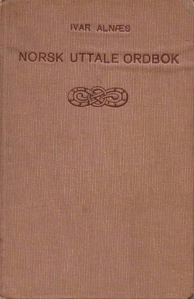 Norsk uttale ordbok
