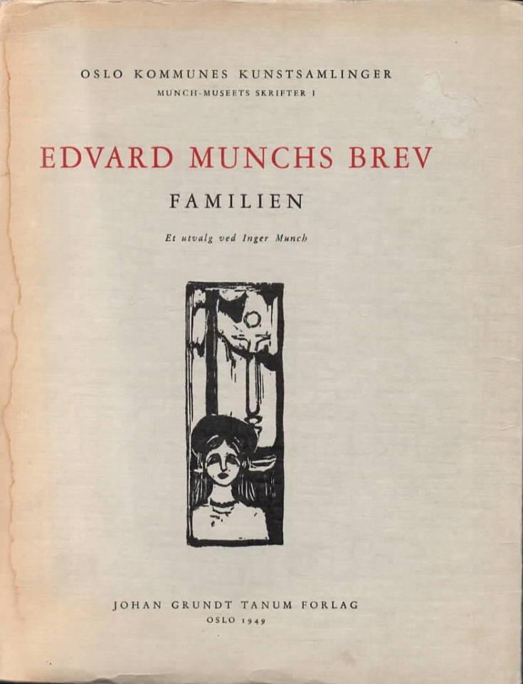 Edvrad Munchs brev – Familien