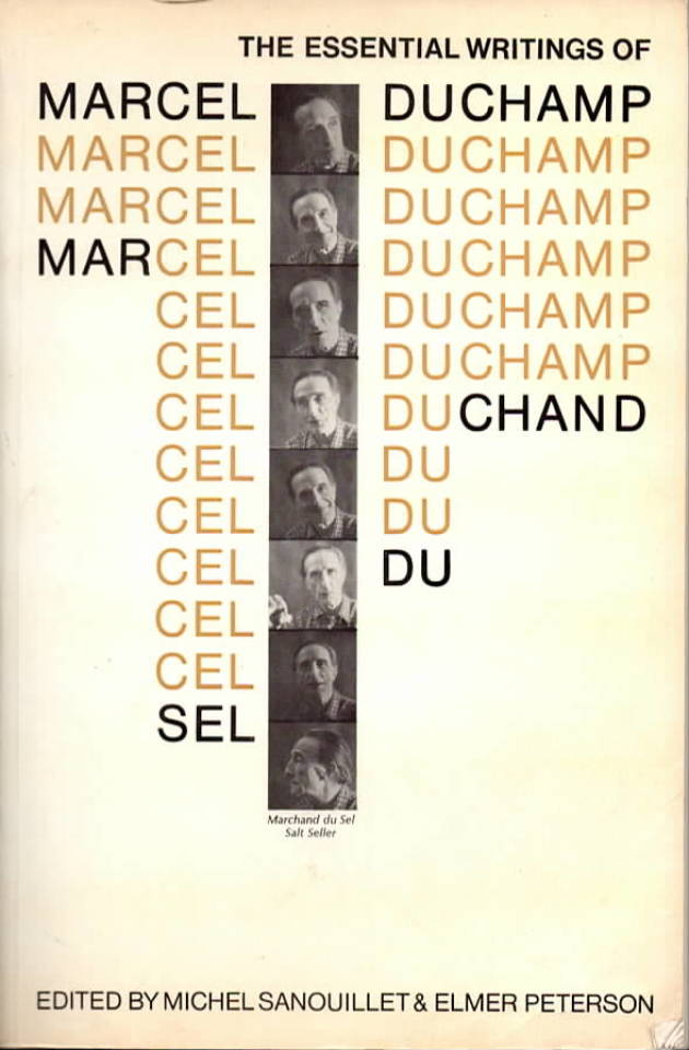 The essential writings of Marcel Duchamp