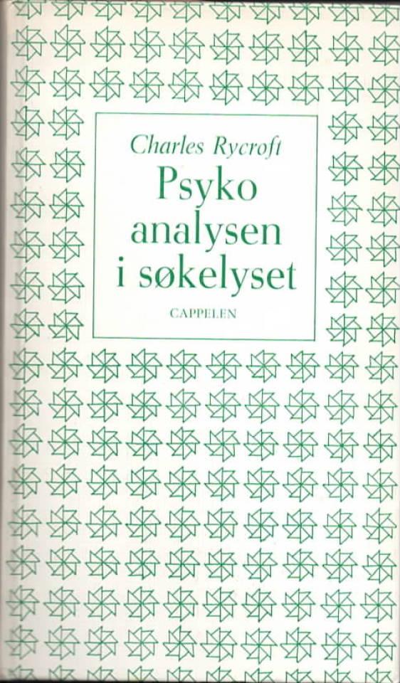 Psykoanalysen i søkelyset