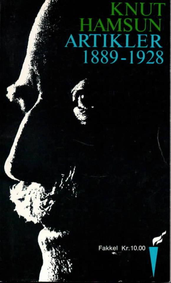 Knut Hamsun artikler 1889-1928
